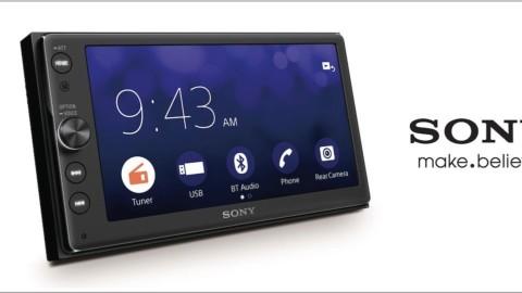 Sony wydało jeden z najbardziej dostępnych systemów multimedialnych z obsługą Apple CarPlay .